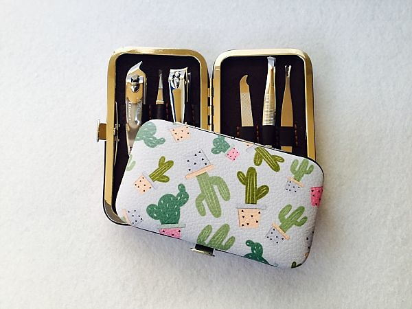 Set de manicura cactus