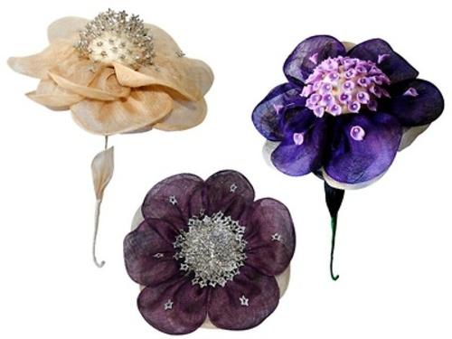 Pomos de flor para alfileres 8162 detalles de boda baratos detalles de boda para mujer - Pomos baratos ...