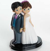 Figura tarta novios esposados ref.2056