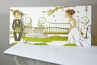 Invitación de boda Cardnovel 34937 - Impresión GRATIS