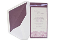Invitación de boda Ref.100488 IMPRESION GRATIS