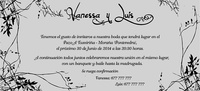 Invitación de boda Ref.22711 Impresión GRATIS