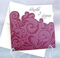 Invitación de boda cardnovel Ref.32805 IMPRESION GRATIS