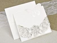 Invitación de boda mariposa 39624