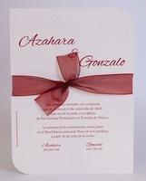 Invitación de boda ref.100730