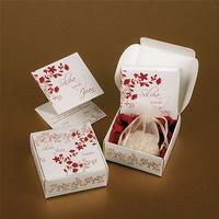 Invitación zen blanca y roja caja arroz Ref.3337313233