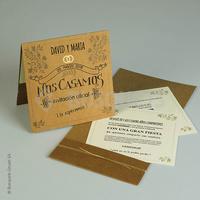 Invitaciones busquets ref.18927  Impresión GRATIS