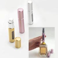 Perfumador aluminio con bomba de recarga