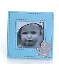 Portafotos celeste bebé ref.1506